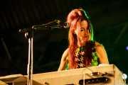 Jeanine Attaway. teclista de The Ugly Beats, Purple Weekend Festival. 2014