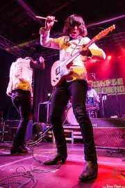 Tobio Lotto -cantante y guitarrista- y Roméo Kizmiaz -guitarrista- de Les Grys-Grys, Purple Weekend Festival. 2014