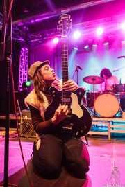 Tobio Lotto -cantante y guitarrista- y Esteban Grisey -baterista- de Les Grys-Grys, Purple Weekend Festival. 2014