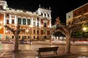 Fachada trasera de la Casa Consistorial de Valladolid (09/12/2014)