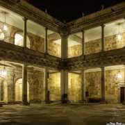 Patio interior del Palacio de Anaya (José de Hermosilla y Juan de Sagarvinaga s.XVIII) (11/12/2014)
