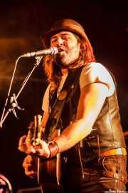 Alex Gunslinger, cantante y guitarrista de Carbayo, CAEM - Sala B. 2014