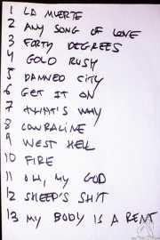 Setlist de Redneck Surfers, CAEM - Sala B. 2014