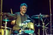 Gorka R.G., baterista de Bye Bye Lullaby, CAEM - Sala B. 2014