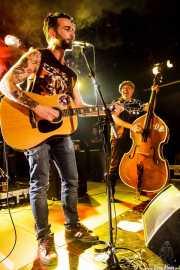 Matt Horan -guitarrista y cantante- y Oscar Calleja -contrabajista- de Dead Bronco, CAEM - Sala B. 2014