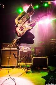 Koldo Soret, guitarrista y cantante de Niña Coyote eta Chico Tornado, Kafe Antzokia. 2014