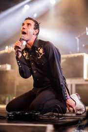 Screaming George, cantante de Screaming George & The Hustlers, Santana 27. 2014