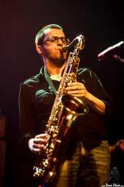 Guillermo García, saxofonista invitado de Highlights, Bilbao. 2015