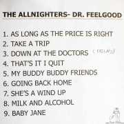 Setlist de The Allnighters, Bilbao. 2015