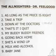 Setlist de The Allnighters, Bilbao. 2015