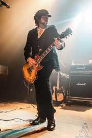 Guy Griffin, guitarrista de The Quireboys, Kafe Antzokia, Bilbao. 2015