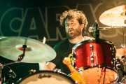 "Pablo González ""Pibli"", baterista de The Cynics, Sala Caracol, Madrid. 2015"