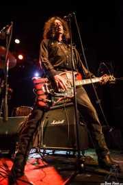 Fred Cole, guitarrista y cantante de Dead Moon, Sala Caracol, Madrid. 2015