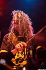Andrew Loomis, baterista de Dead Moon, Sala Caracol, Madrid. 2015