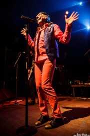 """Enrique Villarreal """"El Drogas"""", cantante y guitarrista, Kafe Antzokia, Bilbao. 2015"""