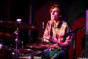 Walker Mimms, baterista de The Paperhead, Kafe Antzokia, Bilbao. 2015