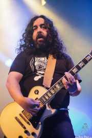 """Asier """"Pulpo"""", guitarrista de Porco Bravo, Santana 27, Bilbao. 2015"""
