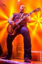 "Asier ""Indomable"", guitarrista de Porco Bravo, Santana 27, Bilbao. 2015"