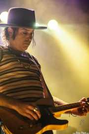 Jonny Kaplan, cantante y guitarrista de Jonny Kaplan & The Lazy Stars, Kafe Antzokia, Bilbao. 2015