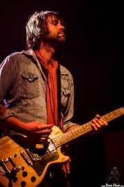 Kevin Haaland, guitarrista de Jonny Kaplan & The Lazy Stars, Kafe Antzokia, Bilbao. 2015