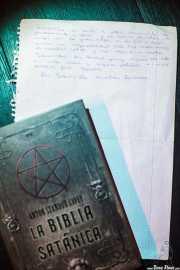 Biblia satánica y discurso de Jesucrista, La Ribera, Bilbao. 2015