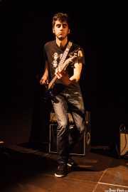 Tórax, bajista de Villapellejos, Sala Cúpula (Teatro Campos Elíseos), Bilbao. 2015