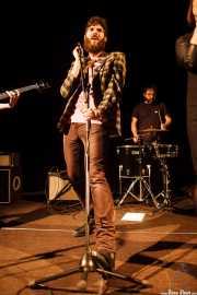 Char-Lee Mito -voz- y Mr. Smoky -batería- de Villapellejos, Sala Cúpula (Teatro Campos Elíseos), Bilbao. 2015