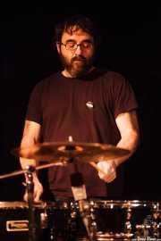 Mr. Smoky, baterista de Villapellejos, Sala Cúpula (Teatro Campos Elíseos), Bilbao. 2015