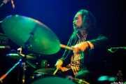 Paul May, baterista de Duke Garwood, Kafe Antzokia, Bilbao. 2015