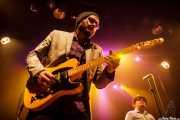 "Travis Swanson ""T-Swan"" -guitarra- y John Németh -voz y armónica-, Kafe Antzokia, Bilbao. 2015"