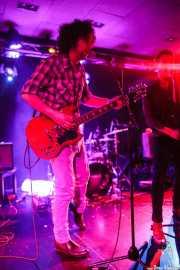 Guille Calleja -voz y guitarra invitado- y Screamin' George -voz y armónica- de Screamin' George & The Hustlers, Santana 27, Bilbao. 2015