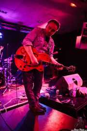 James Hustler, guitarrista de Screamin' George & The Hustlers, Santana 27, Bilbao. 2015