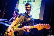 Mr. Smoky -batería- y Zala Pellejo -guitarra- de Los Plomos, Hika Ateneo, Bilbao. 2015