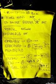 Setlist de Joseba B. Lenoir Gang, Hika Ateneo, Bilbao. 2015