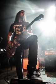 Felipe Sobrado, guitarrista de The Wizards, Kafe Antzokia, Bilbao. 2015