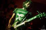 Cleve Punkmachine, guitarrista de The Capaces, Satélite T, Bilbao. 2015