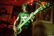 Cleve Punkmachine -guitarra- y Saul -batería- de The Capaces, Satélite T, Bilbao. 2015
