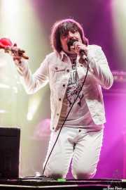 Txema Babón, cantante de Lie Detectors, Santana 27, Bilbao. 2015
