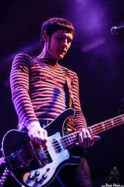 "Aitor Castillo ""Txiki"", bajista de Lie Detectors, Santana 27, Bilbao. 2015"