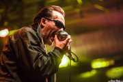 Dave Vanian, cantante de The Damned, Santana 27, Bilbao. 2015