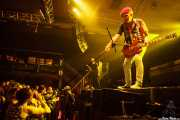 Captain Sensible -guitarra y voz- y Dave Vanian -voz- de The Damned, Santana 27, Bilbao. 2015