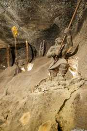 Estátuas de sal en las minas de sal (Wieliczka, Polonia) (27/04/2015)