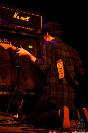 Roger Harvey, cantante y guitarrista, Kafe Antzokia, Bilbao. 2015