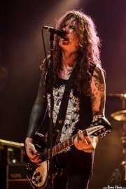 Laura Jane Grace, cantante y guitarrista de Against Me!, Kafe Antzokia, Bilbao. 2015
