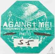 PhotoPass de Against Me!, Kafe Antzokia, Bilbao. 2015