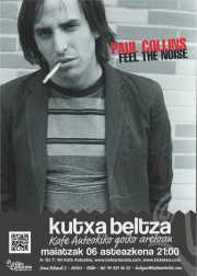 Cartel de The Paul Collins Beat, Kafe Antzokia, Bilbao, 2015