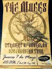 Cartel de The Muggs, Satélite T, Bilbao. 2001