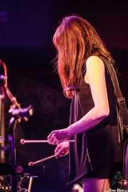 Tamaki Kunishi, bajista, pianista y glockenspiel de Mono, Sala Sonora, Erandio. 2015