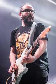 Julen Martín, guitarrista de Señores, Santana 27, Bilbao. 2015