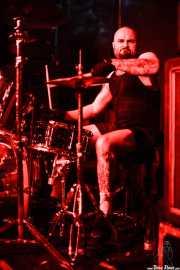 Rick Smith, baterista de Torche, Kafe Antzokia, Bilbao. 2015